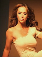 Jennifer Love Hewitt very hot in some lingerie at The Client List photoshoot from CelebMatrix