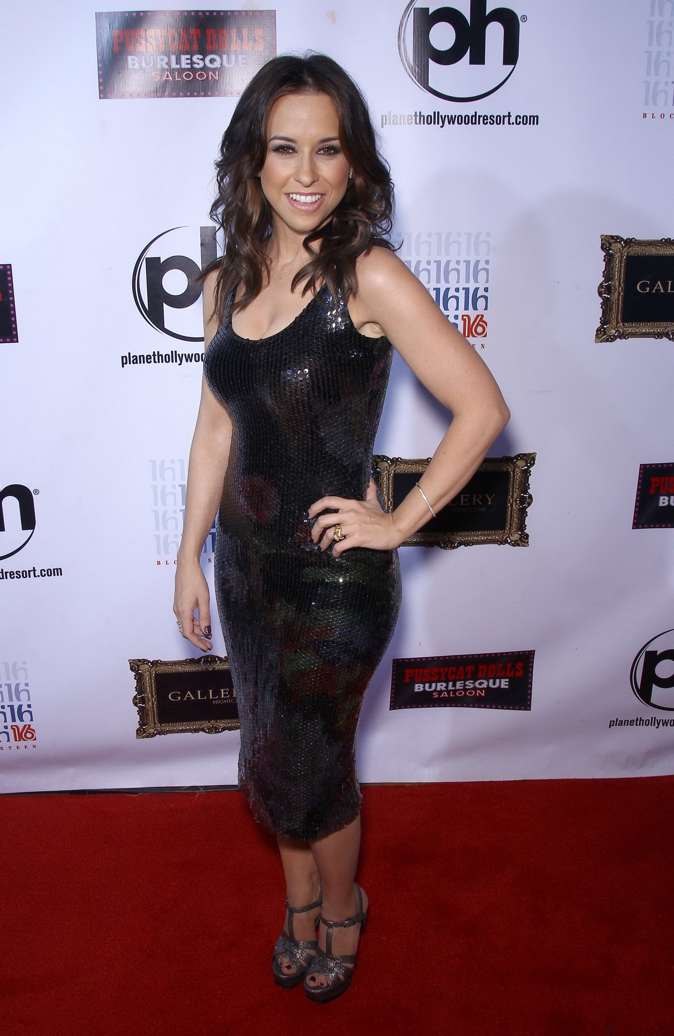 lacey chabert in black