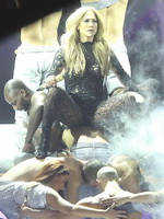 Jennifer Lopez see-through to underwear at the concert and TV show in Dusseldorf from CelebMatrix