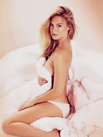 Bar Refaeli topless but hiding at Fox and Maxime magazine photoshoots from CelebMatrix