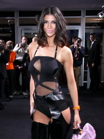 Micaela Schaefer was thrown out of the Mercedes Benz Fashion Week for not dressing appropriately from CelebMatrix