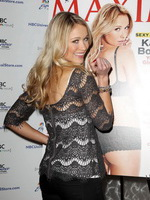 Katrina Bowden stunning in lingerie for Maxim magazine and at signing event in New York from CelebMatrix