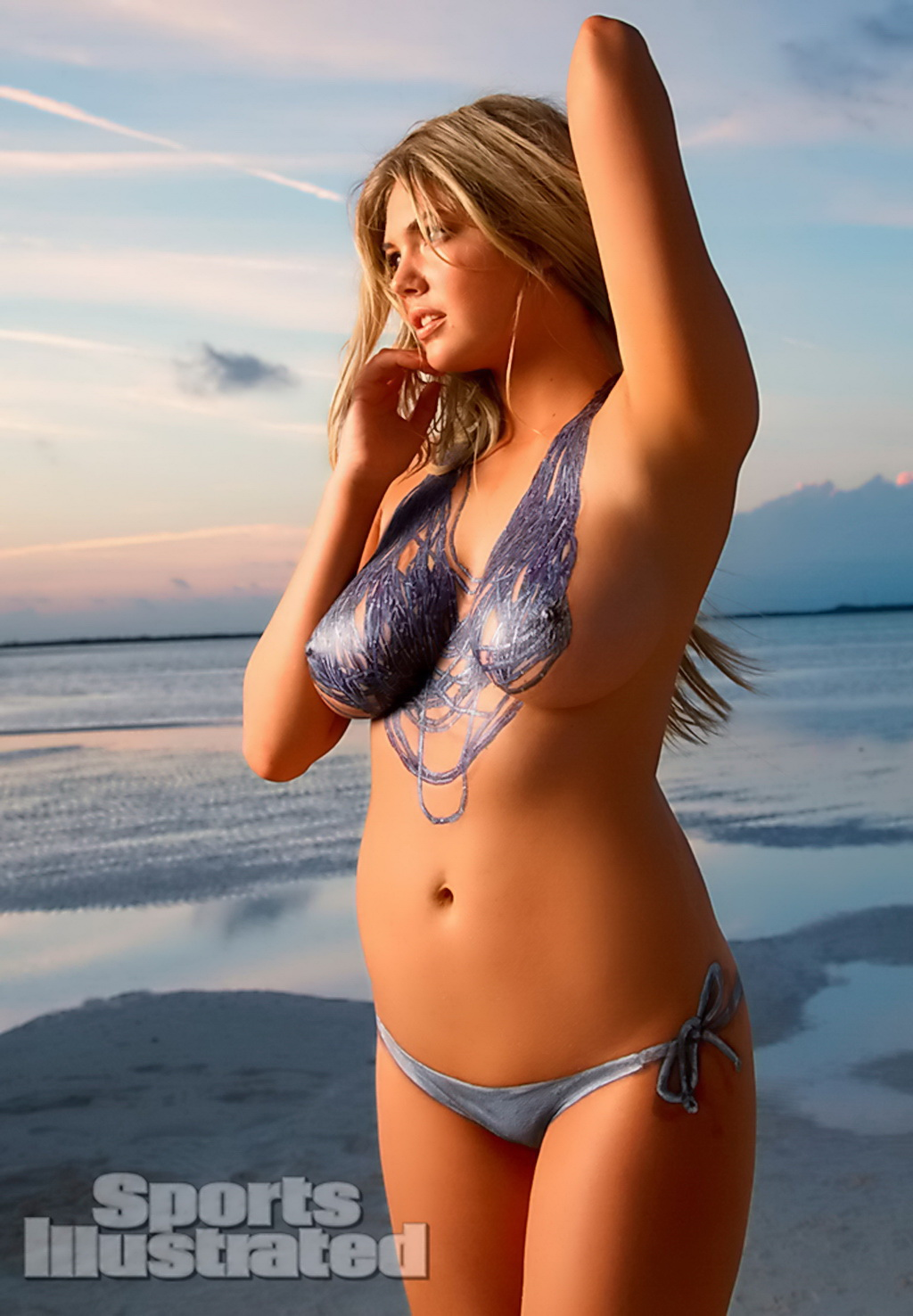 Kate upton sports illustrated body paint