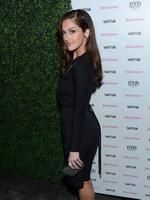 Minka Kelly looks hot wearing short tight black dress at  2013 Vanities Calendar Event in Los Angeles from Mr Skin