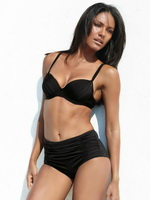 Emanuela de Paula exposing her curvy bikini body for Next 2013 spring/summer collection from Mr Skin