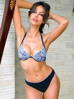 Madalina Ghenea showing off her sexy bikini body for Grimaldimare from Mr Skin