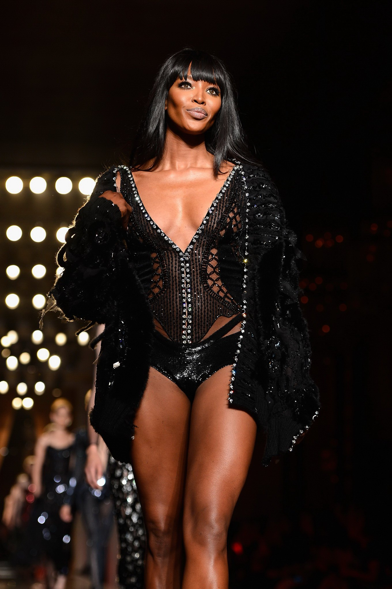 Naomi Campbell Fashion Show