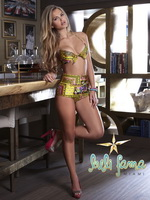 Elisandra Tomacheski exposing her amazing bikini body for Luli Fama swimwear collection 2014 from CelebMatrix