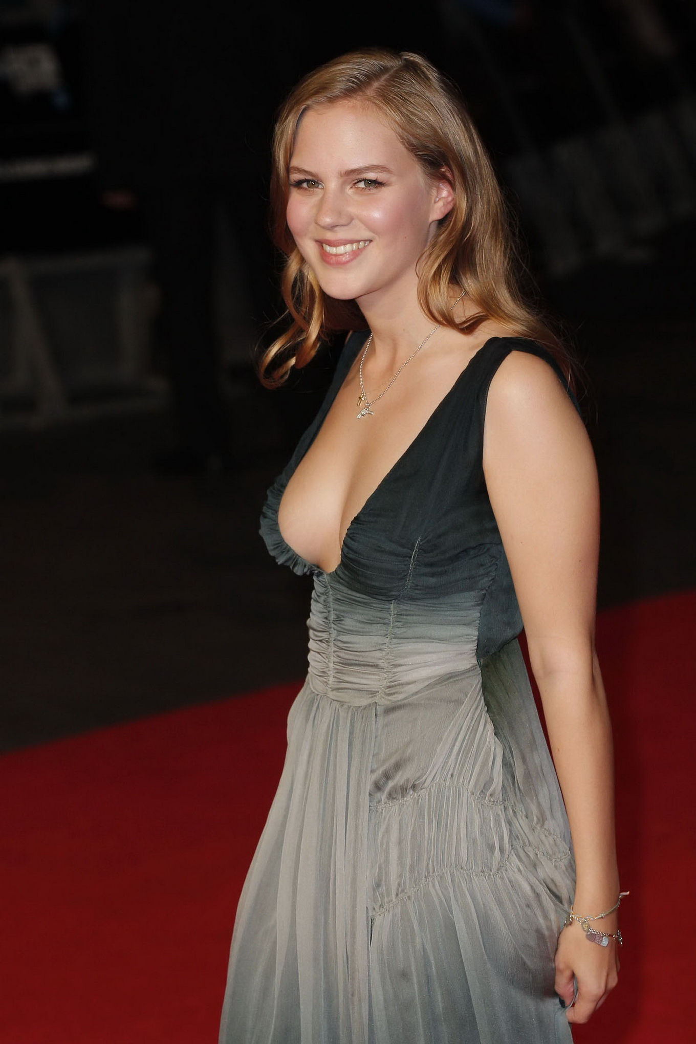 Alicia von Rittberg braless showing huge cleavage at the ...