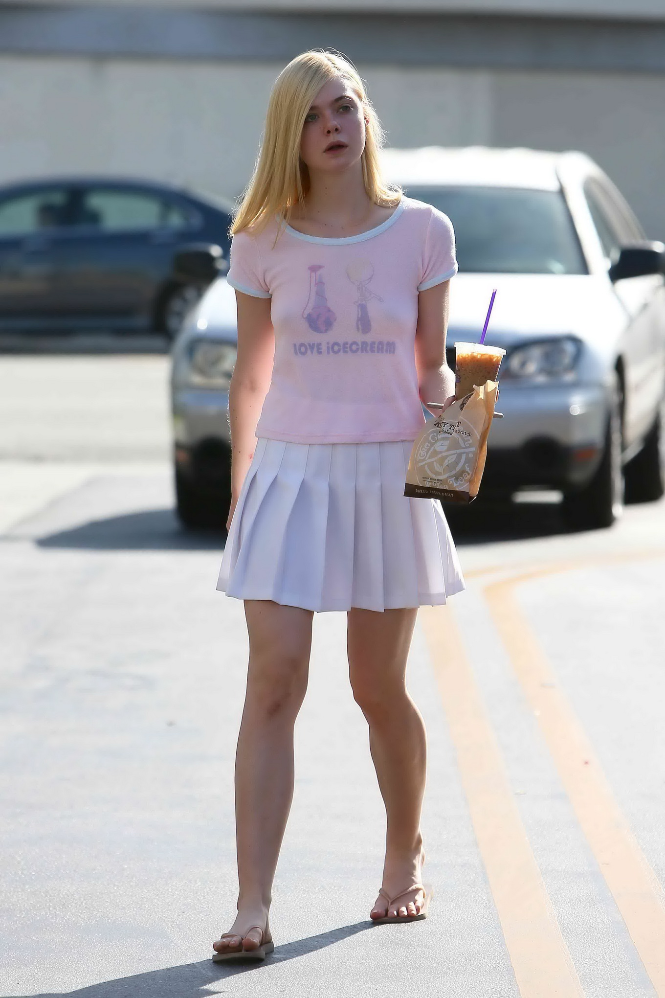through Elle fanning see
