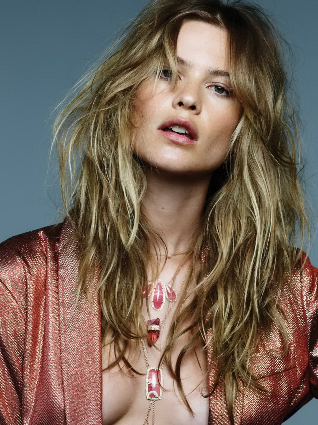 Behati Prinsloo Fronts Free People S June E Catalog: Behati Prinsloo Topless And See-through Photoshoot By