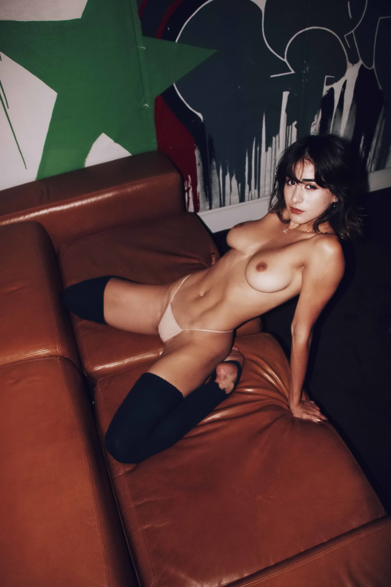 mia valentine stripping fully naked for deadly sins