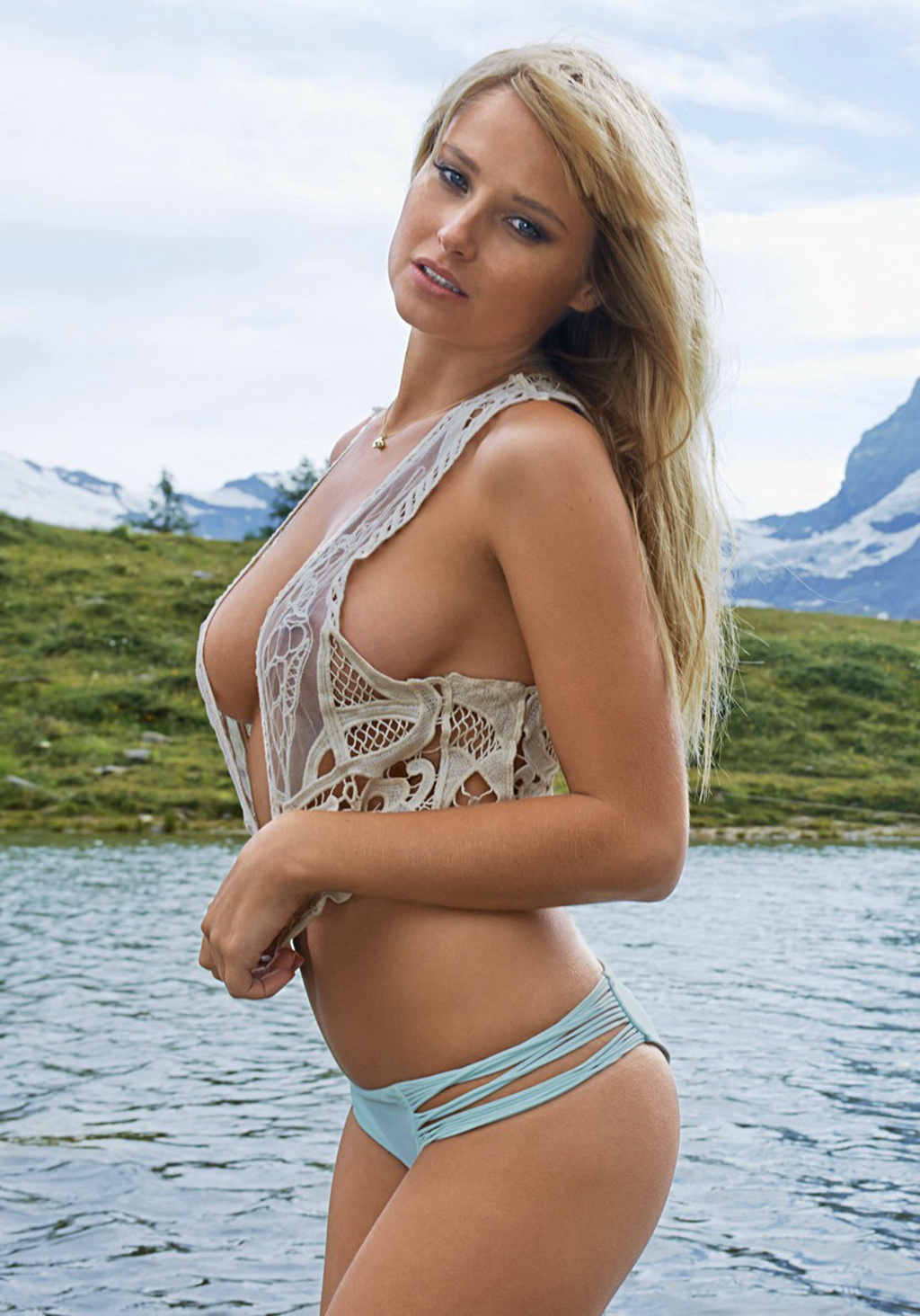 Genevieve Morton Showing Off Her Fully Naked Body At The Photoshoot By -3580