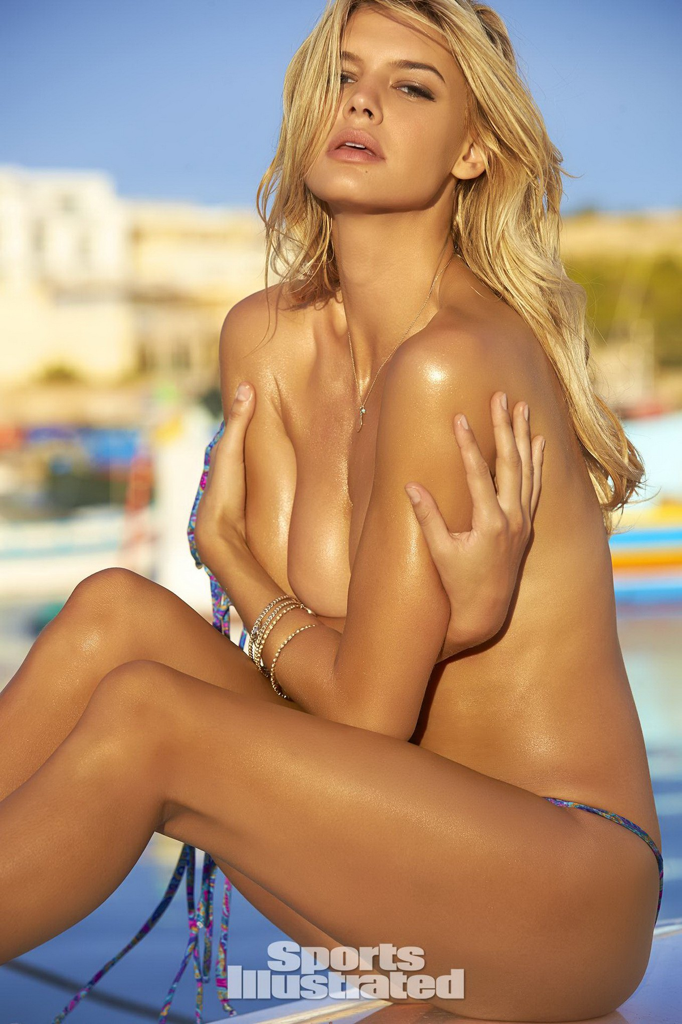 Kelly Rohrbach topless for Sports Illustrated Swimsuit ...